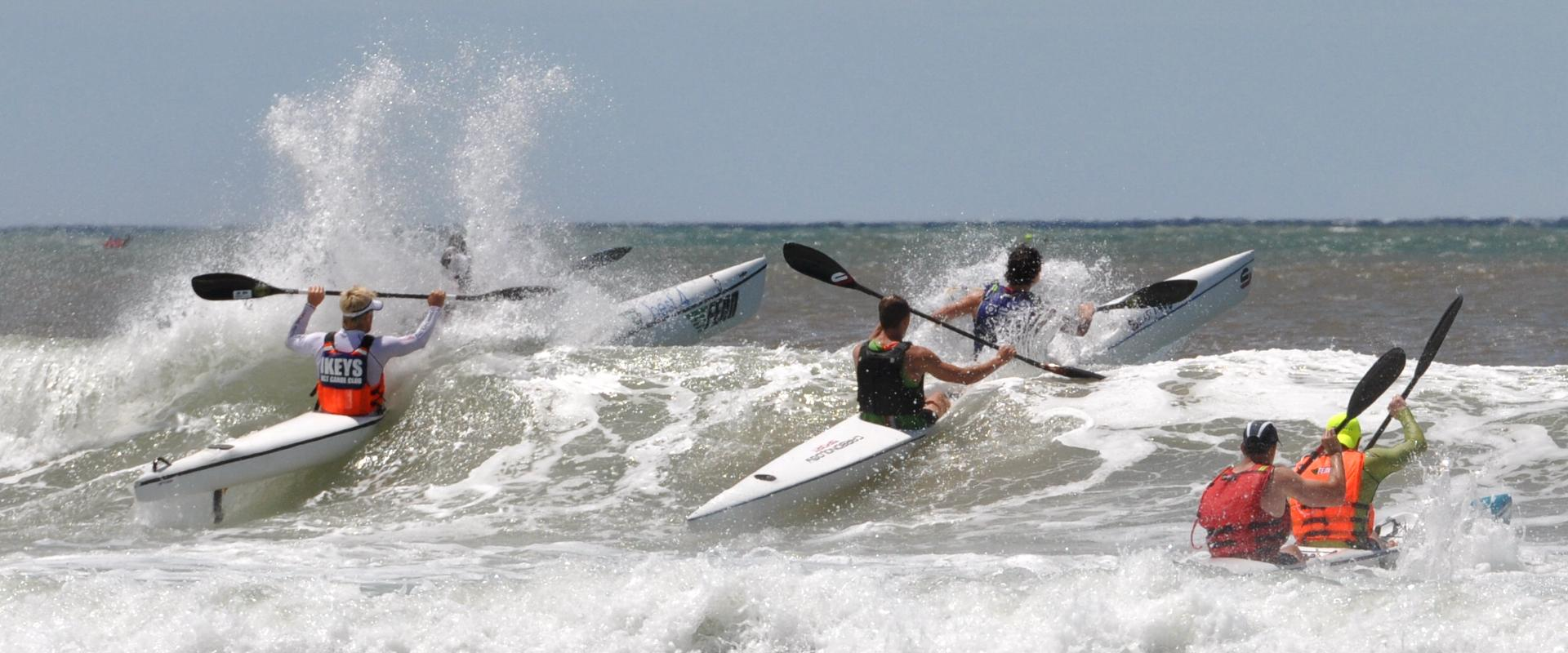 Two days of awesome surfski paddling